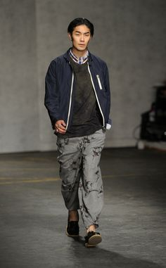 London Collections Men SS15 Oliver Spencer