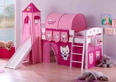 Hello Kitty Kids Bunk Bed Tent Design For Design: 19 Amazing Kid . Hello Kitty Bedroom Set, Hello Kitty Rooms, Cat Bedroom, Hello Kitty Themes, Girls Bedroom, Girl Room, Bedroom Decor, Bedroom Ideas, Indie Bedroom