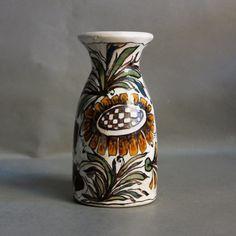 Ceramic vase. Elio Schiavon. Erhart S.K.K. Italy. 1950 - 1955.