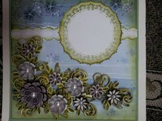 Quilling clock | Quilling fiori | Pinterest