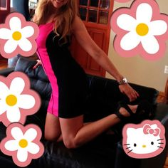 Pink flower power!!