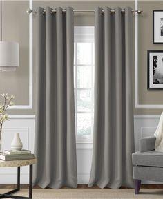 Elrene Essex Grommet Linen 50 x 95 Panel - Window Treatments - For The Home - Macy's