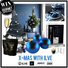 Enter our Pinterest Competition - Xmas with ILVE - for your chance to win an ILVE Coffee Machine and Gourmet coffee pack from Campos and Avanti!  Further details on how to enter on the 'Xmas with ILVE Competition' board. #ILVEXmas