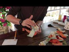 ▶ Castiçais feitos com tecidos de patchwork - YouTube Nossa gente adorei maravilhoso!