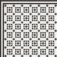 victorian floor tiles mosaic London www.martinmosaic.com