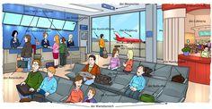 aéroport salle d'attente