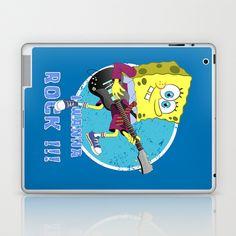 i wanna rock !!! Laptop & iPad Skin by mauro mondin - $25.00