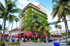 Known today as the cultural center of South Florida, Lincoln Road Mall is a seven block pedestrian-only street mall in South Beach. Pin provided by Mandarin Oriental, Miami: http://www.mandarinoriental.com/miami/