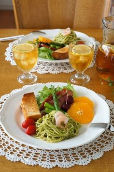 パスタプレートのランチ|毎日笑顔で過ごしたい Breakfast Picnic, Whole Food Recipes, Healthy Recipes, Good Food, Yummy Food, Healthy Eating For Kids, Cafe Food, Morning Food, Aesthetic Food