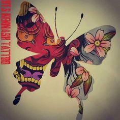 - Hanya F Tattoo, Hanya Tattoo, Demon Tattoo, Tattoo Sketches, Tattoo Drawings, Mascara Hannya, Samurai, Japan Tattoo Design, Anubis Tattoo