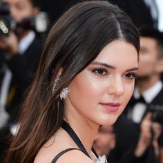 Kendall Jenner Boyfriend, Kendall Jenner Style, Sleek Hairstyles, Straight Hairstyles, Cannes Film Festival 2014, Plastic Surgery Photos, Celebrities Before And After, Best Handbags, Her Hair