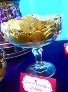 Cave of wonders chocolate coins