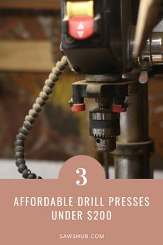 Discover the best cheap drill press under $200 in our comprehensive woodworking review. Use this DIY tool for drilling, mortising, square holes, and spindle sanding. #sawshub #drillpress #cheaptool #woodworking Diy Indoor Furniture, Pallet Furniture Plans, Diy Furniture Projects, Woodworking Projects Diy, Art Projects, Free Pallets, Wood Pallets, Homemade Tables, Build Your Own House