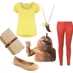 How To Dress Like Monsters, Inc Characters: Polyvore Outfits | Gurl.com