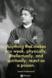 48 Famous Swami Vivekanand Quotes That Everyone Should Read - Winspira - - Trend Lightworker Quotes 2019 Spiritual Awakening Quotes, Spiritual Guidance, Spiritual Life, Enlightenment Quotes, Spiritual Thoughts, Positive Thoughts, Positive Quotes, Motivational Quotes, Inspirational Quotes