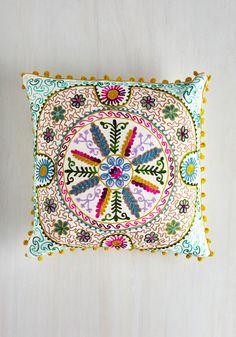 Bo-Homey Pillow | Mod Retro Vintage Decor Accessories | ModCloth.com