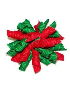 Christmas Whirlie Clip for Dogs, another great stocking stuffer and super cute! available @ http://doggyinwonderland.com/item_1544/Christmas-Whirlie-Clip-for-Dogs.htm on sale $5.49!