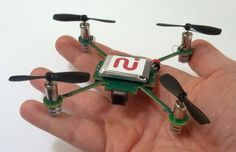 Quadrocopter With Streaming Video Camera - great for home awareness