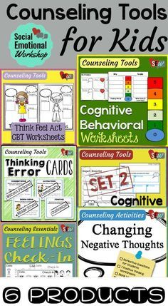 Over 100 pages of activities to help kids problem solve, understand their thoughts and emotions, and how that impacts their behavior. Perfect set for a school counselor or psychologist working in elementary schools. Social Emotional Workshop