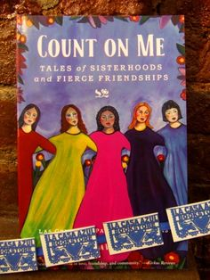 """Count On Me"" edited by Adriana V. Lopez  La Casa Azul Bookstore loves #LatinoLit"