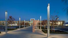 Bega Linear Element - Square Pathway Lighting, Path Lights, Landscape Lighting, Outdoor Lighting, All Of The Lights, Light Building, Urban Furniture, Library Design, Environmental Design