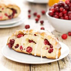 I love this time of year when fresh cranberries start to appear in the grocery stores. I've always thought that fresh always beats dried cranberries when it comes to baking, although it seems…