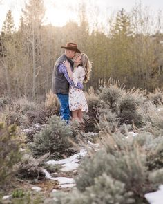 Rustic inspired engagement photography. Engagement photo outfit ideas to really reflect your personality and style! Vedauwoo Medicine Bow National Forest Engagement Photography by Laramie based wedding photographer | Megan Lee Photography