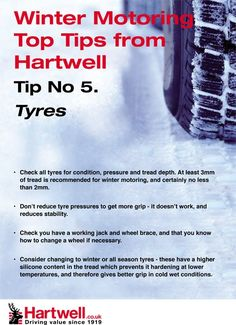 Winter Tyres tips from Hartwell Plc     Tucson auto body shop, collision repair, auto body restoration