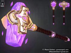 ArtStation - Hammer of the Naaru (Warcraft) Redesign, G. Mason Graham