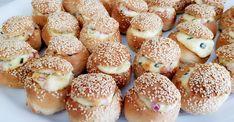 Mini cob loaves Cob Loaf, Mini Hamburgers, Loaf Recipes, Savory Snacks, High Tea, Food Truck, Baking, Tea Ideas, Food Ideas