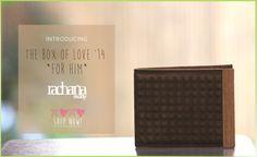 Embossed Lover - Men's Wallet (The box of Love' 14) - Rachana Reddy
