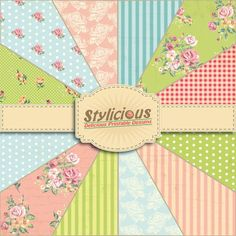 Hey, I found this really awesome Etsy listing at https://www.etsy.com/listing/217966956/shabby-chic-flowers-pattern-digital