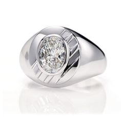 Harry Winston Men by Thom Browne, Diamond Class Ring