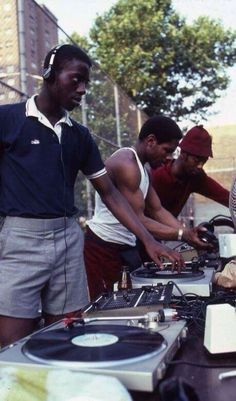 Old school block party in the Bronx.  | hip hop beats for sale at undercurrentbeats.com