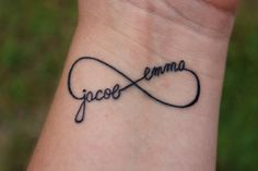 Personalized InfinityTattoo by jRoxDesigns