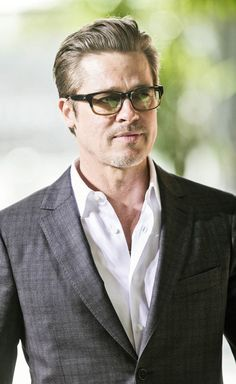 "Brad Pitt, I really wanted to put this on my ""For the Home"" board."