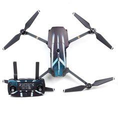 Cuadricóptero RC Recambios Pegatinas Boddy y Transimittervs para DJI Mavic Pro