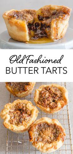 Butter Pecan Tarts, Best Butter Tart Recipe, Best Pastry Recipe, Tart Crust Recipe, Pastry Recipes, Cooking Recipes, Mini Pecan Tarts, Dessert Tarts Mini, Easy Tart Recipes