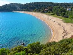 Destenika - wind-protected sandy cove - Sithonia