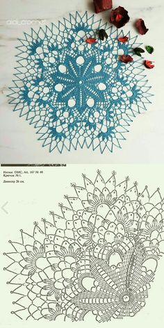 Crochet Angel Pattern, Crochet Doily Patterns, Crochet Motif, Crochet Doilies, Knit Crochet, Sewing Patterns, Crochet Bedspread, Crochet Tablecloth, Crochet Circles