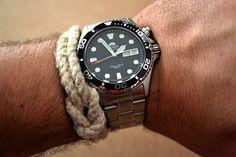 Review reloj Orient Mako Diver CEM65008B. - SinAbrochar