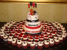 Reunion Cake and Cupcakes