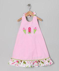 Pink Ice Cream Halter Dress - Infant & Toddler ~ Zulily.com