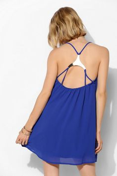 Oh My Love Triangle Plate Swing Dress - Urban Outfitters obsessed