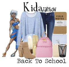 """Kida"" by tallybow ❤ liked on Polyvore featuring mode, Disney, Miss Selfridge, Victoria's Secret, Kate Spade, Liz Claiborne, Moschino et River Island"