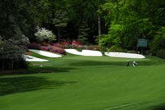 The fairway and green of hole number thirteen at Augusta National Golf Club in Augusta, Georgia Augusta Golf, Augusta National Golf Club, Public Golf Courses, Best Golf Courses, Golf Course Reviews, Masters Golf, Golf Simulators, Best Places To Travel, Tenerife