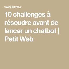 10 challenges à réso