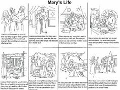 Free Mary Printables for Kids link at Catholic icing