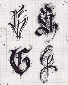 … – Graffiti World Chicano Tattoos Lettering, Tattoo Lettering Design, Gothic Lettering, Graffiti Lettering Fonts, Tattoo Script, Script Lettering, Tattoo Fonts Alphabet, Hand Lettering Alphabet, Graffiti Alphabet