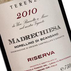 Madrechiesa - Morellino di Scansano - Terenzi #vino #wine #packaging #design #naming #etichette